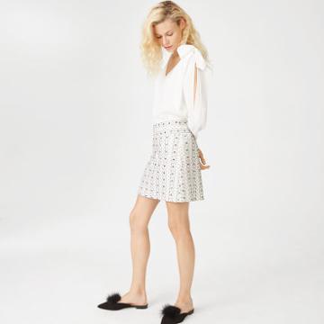 Club Monaco Gardalynn Beaded Skirt