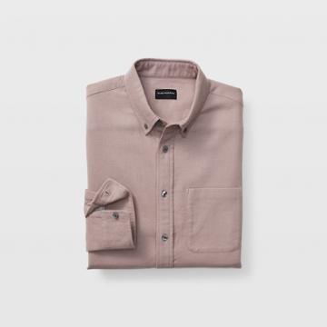 Club Monaco Iris Slim Solid Double-faced Shirt