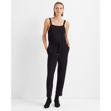 Club Monaco Black Ciggy Knit Jumpsuit