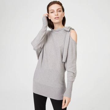Club Monaco Color Grey Tinashe Sweater