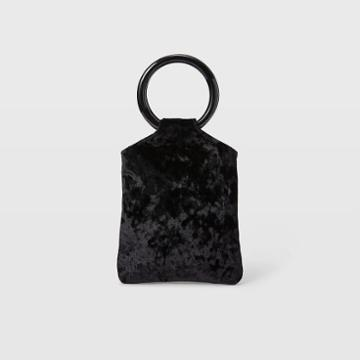 Club Monaco Color Black Kayu Top Handle Bag