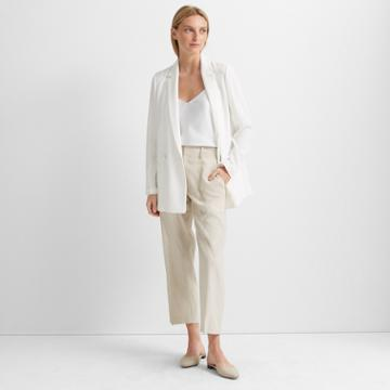 Club Monaco Off White Deconstructed Blazer