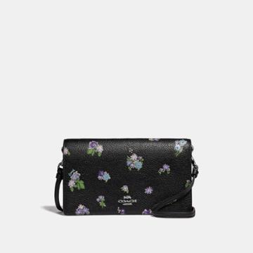 Coach Hayden Foldover Crossbody With Posey Cluster Print