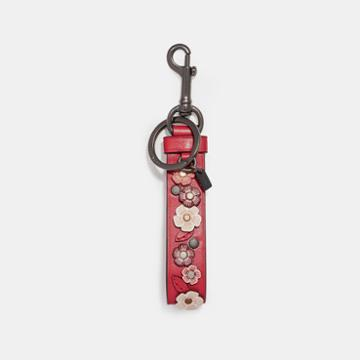 Coach Tea Rose Charm Loop