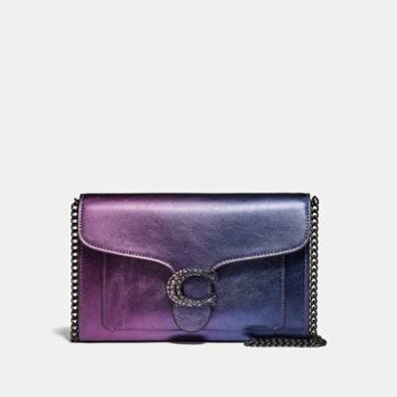 Coach Tabby Chain Clutch With Ombre