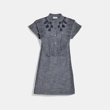 Coach Chambray Short Prairie Dress