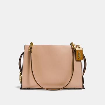 Coach Rogue Shoulder Bag In Colorblock