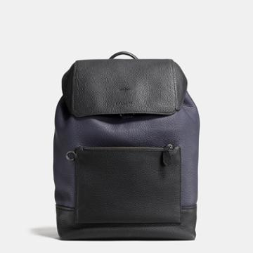 Coach Manhattan Backpack In Colorblock Leather
