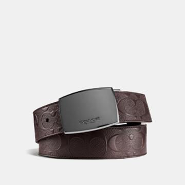 Coach Classic Plaque Cut-to-size Reversible Belt In Signature Leather