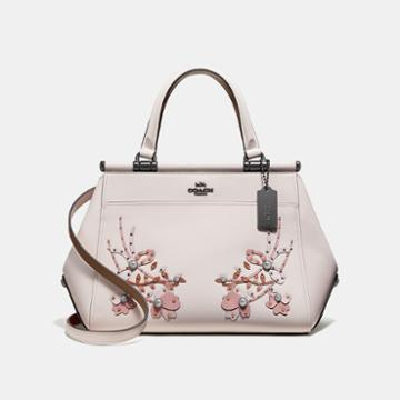 Coach Grace Bag With Floral Embroidery