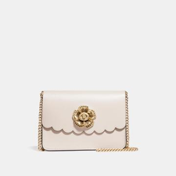 Coach Bowery Crossbody With Tea Rose Turnlock