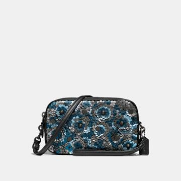 Coach Crossbody Clutch With Sequins