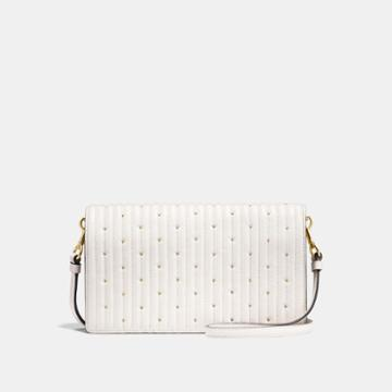 Coach Hayden Foldover Crossbody Clutch With Quilting And Rivets