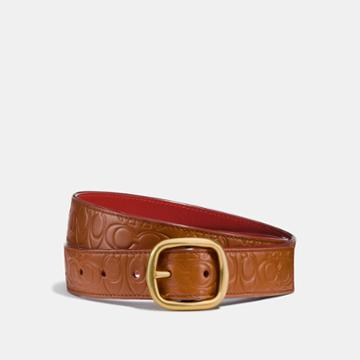 Coach Classic Reversible Belt In Signtature Leather