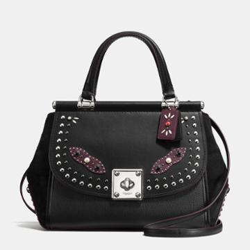 Coach Drifter Carryall In Glovetanned Leather With Western Rivets