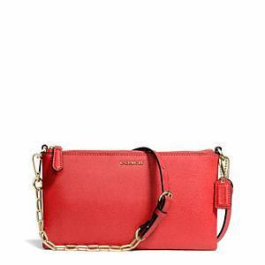 Coach - Saffiano Leather Kylie Crossbody Li/love Red