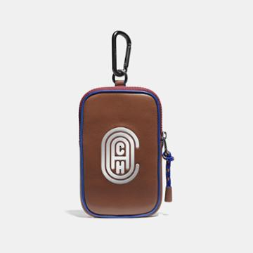 Coach Hybrid Pouch 10 In Colorblock With Reflective Patch