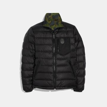Coach Reversible Puffer Jacket