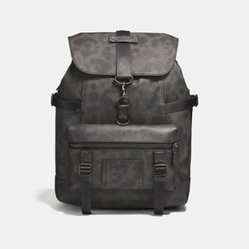 Coach Bleecker Utility Backpack With Wild Beast Print