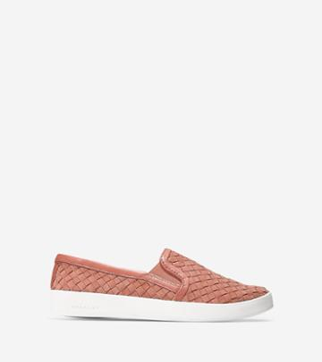 Cole Haan Women's Grandpro Spectator Slip On Sneaker