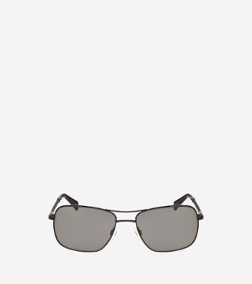 Cole Haan Mens Metal Pilot Sunglasses