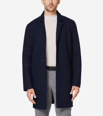 Cole Haan Men's Grand.os Stretch Wool Jacket