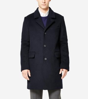 Cole Haan Men's Washington Grand Lambswool Topper Jacket