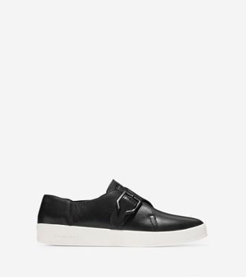 Cole Haan Women's Grandpro Spectator Monk Slip-on Sneaker