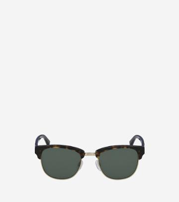 Cole Haan Womens Acetate/metal Square Sunglasses