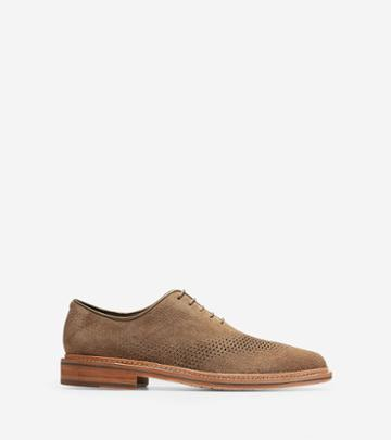 Cole Haan Men's Washington Grand Unlined Laser Wingtip Oxford Shoes