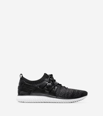 Cole Haan Men's Grandmotion Woven Sneaker With Stitchlite