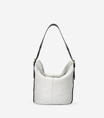Cole Haan Loralie Whipstitched Bucket Hobo