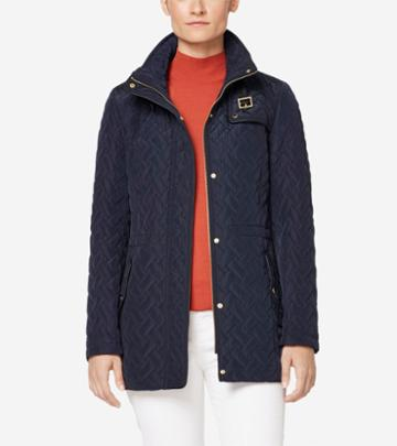 Cole Haan Women's Signature Quilted Short Jacket