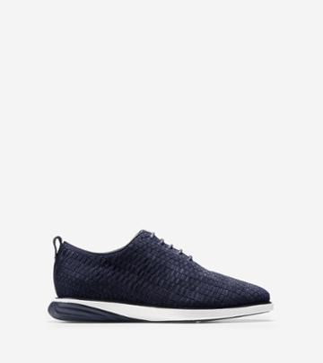 Cole Haan Men's Grandevolution Woven Oxford Shoes