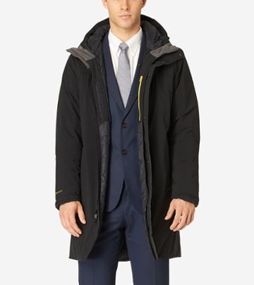 Cole Haan Men's Zerogrand Trench Coat