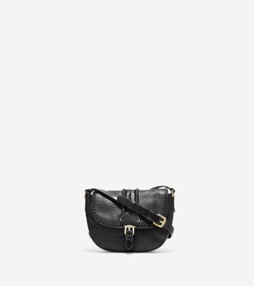 Cole Haan Loralie Whipstitched Mini Saddle Bag