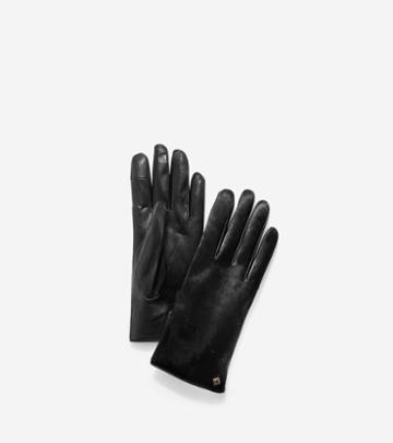 Cole Haan Women's Haircalf Gloves
