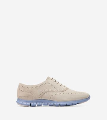 Cole Haan Womens Zerogrand Waterproof Wingtip Oxford Shoes