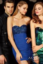 Alyce Paris Homecoming - 4385 Dress In Sapphire