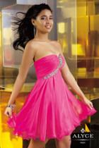 Alyce Paris Homecoming - 3560 Dress In Wow Pink
