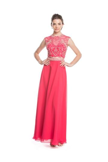 Aspeed - L1598 Two Piece Embellished A-line Evening Dress