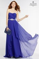 Alyce Paris - 6545 Prom Dress In Sapphire