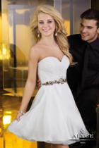 Alyce Paris Homecoming - 3547 Dress In White