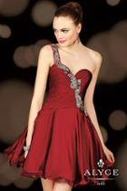 Alyce Paris Homecoming - 4403 Dress In Wine