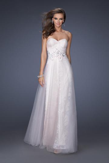 Gigi - 19968 Lace Sweetheart A-line Dress