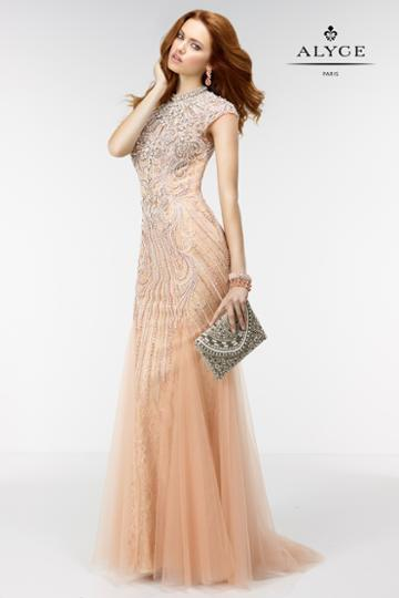 Alyce Paris - 6503 Dress In Blush