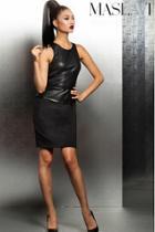 Jovani - Sleeveless Peplum Cocktail Dress M184