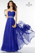 Alyce Paris B'dazzle - 35808 Dress In Cobalt