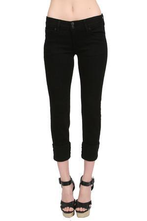 Hudson Jeans Ginny Crop Straight Jean In Black