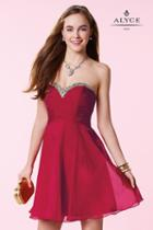 Alyce Paris Homecoming - 3642 Dress In Claret